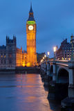 Clocktower of the Houses of Parliament Stock Photo