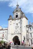 Clocktower in La Rochelle, France Royalty Free Stock Photo