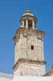 Clocktower. Laterza. Puglia. Italy. Royalty Free Stock Photos