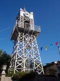 Clocktower in Lefkada Town Stock Photography
