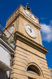 Clocktower. Manduria. Puglia. Italy. Stock Photo