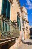 Clocktower. Manduria. Puglia. Italy. Stock Image