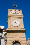 Clocktower. Manduria. Puglia. Italy. Royalty Free Stock Photo
