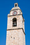 Clocktower. Manfredonia. Puglia. Italy. Royalty Free Stock Photo