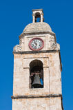 Clocktower. Manfredonia. Puglia. Italy. Royalty Free Stock Photography