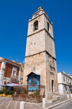 Clocktower. Manfredonia. Puglia. Italy. Stock Photo