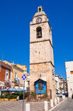 Clocktower. Manfredonia. Puglia. Italy. Royalty Free Stock Photo