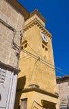 Clocktower. Minervino Murge. Puglia. Italy. Stock Photo