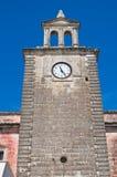 Clocktower. Mottola. Puglia. Italy. Stock Images