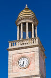 Clocktower. Noci. Puglia. Italy. Royalty Free Stock Photo