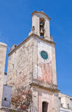 Clocktower. Otranto. Puglia. Italy. Royalty Free Stock Photography