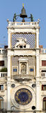 Clocktower på fyrkant för St Mark's i Venedig Royaltyfri Foto