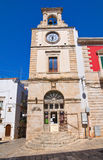 Clocktower. Putignano. Puglia. Italy. Royalty Free Stock Photos