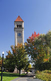 Clocktower in riverfront park, spokane, washington Royalty Free Stock Image