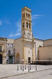 Clocktower. Specchia. Puglia. Italy. Royalty Free Stock Photos