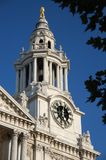 Clocktower of St Pauls Cathedral, London, England Stock Photo