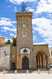 Clocktower. Ugento. Puglia. Italy. Royalty Free Stock Photo