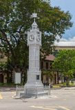 Clocktower in Victoria Mahe Seychelles Stock Photos