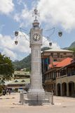 Clocktower in Victoria Mahe Seychelles Royalty Free Stock Photos