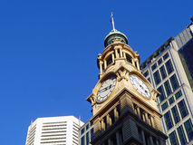 Clocktower on Victorian Era Building. Clocktower on the Victorian era Sydney GPO Building, Sydney, Australia Royalty Free Stock Photo