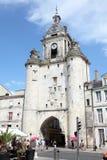 Clocktower w La Rochelle, Francja Zdjęcie Royalty Free