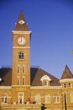 Clocktower on Washington County Courthouse Royalty Free Stock Image