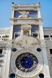 Sts Mark Clocktower, Venedig, Italien Fotografering för Bildbyråer