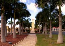 clocktowerpromenad till Royaltyfri Fotografi