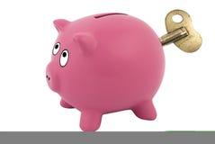 clockwork банка piggy Стоковые Фото
