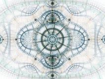 Clockwork фрактали звезды тематический Стоковые Изображения RF