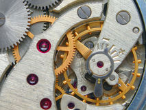 Clockwork. Inside of my pocket watch Stock Photo