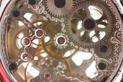 Clockwork. Close up of a clockwork Royalty Free Stock Image