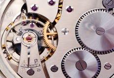 Clockwork. Close up of a mechanical clockwork stock image