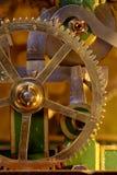 Clockwork. Detail of the old clockwork stock image