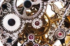 Clockwork. Close up of a clockwork stock photo