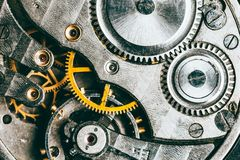 Clockwork Background Stock Image