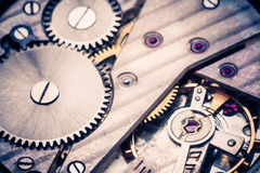 Clockwork Background Stock Images