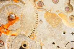 Clockwork background Stock Photography