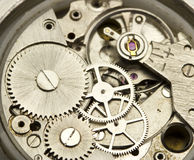 Clockwork close up. Hours close up. See my other works in portfolio Royalty Free Stock Photography