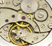 Clockwork close up. Hours close up. See my other works in portfolio Stock Photos