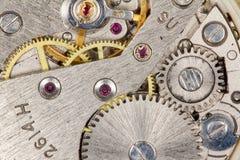 Clockwork close-up stock photo