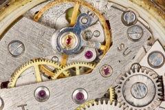 Clockwork close-up stock photos