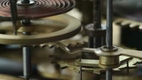 Clockwork. Close-up Old clockwork close up stock video footage