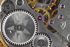 Clockwork closeup Royalty Free Stock Image