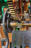 Clockwork from colcktower Stock Photo
