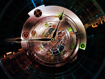 Clockwork Connections Royalty Free Stock Images