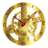 Clockwork design Stock Image