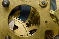Clockwork detail Royalty Free Stock Photo