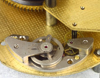 Clockwork details macro Royalty Free Stock Image