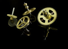 Clockwork gear Royalty Free Stock Image